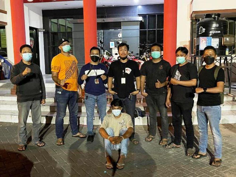 Satu Pelaku Kapasan Berdara Ditangkap Polisi