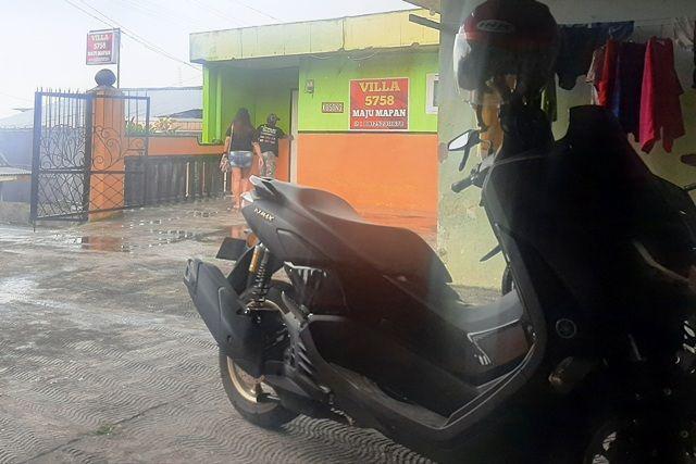 Motor Cak Man Hilang Saat Parkir di Villa Prigen